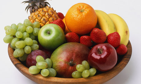 manger des fruits