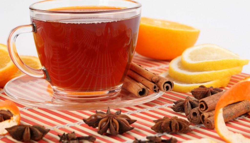 thé citron cannelle et anis