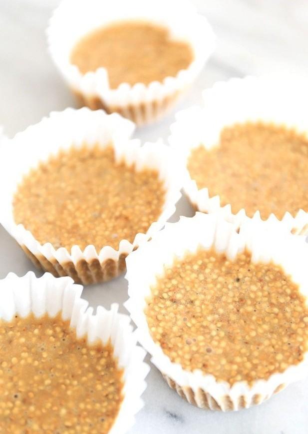 recette rapide et protéiné bouchés quinoa beurre d arachide