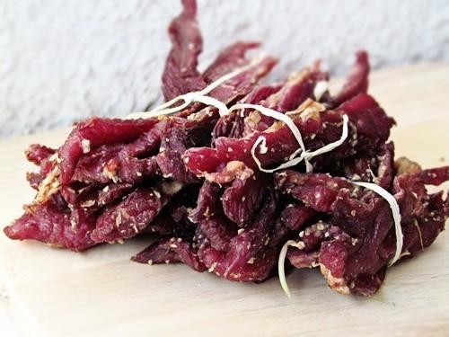 recette rapide et protéiné jerky de boeuf