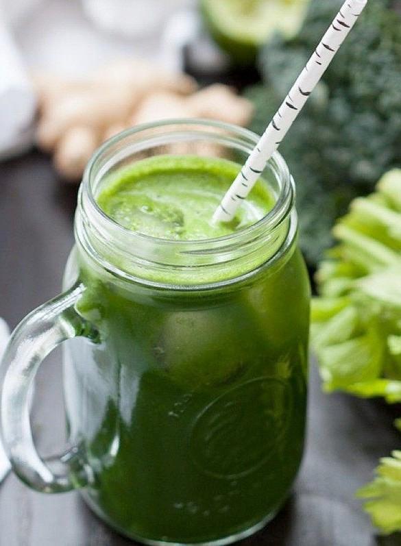 jus de légumes verts detox recette