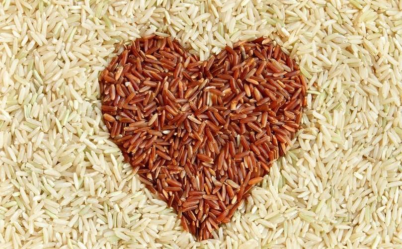 coeur en riz complet