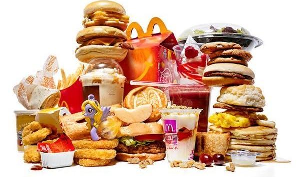 mauvais gras type fast food