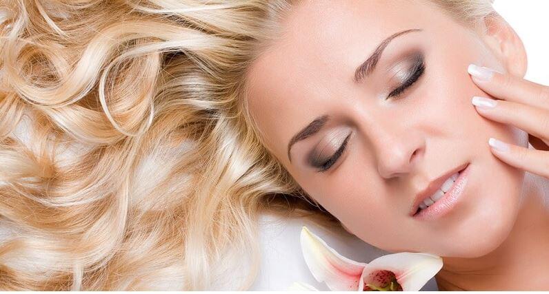 peau saine avec acides gras