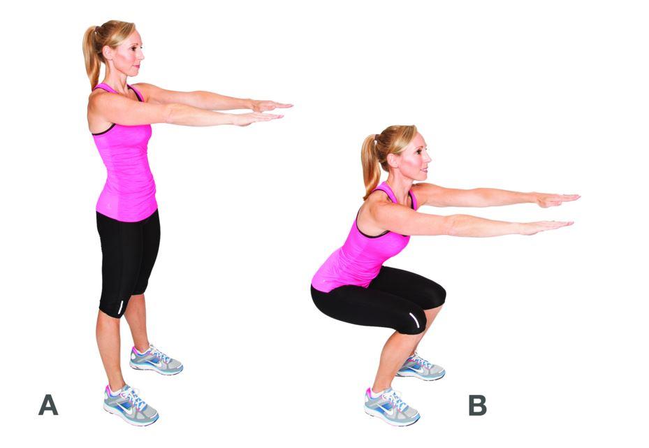 mouvements de squats