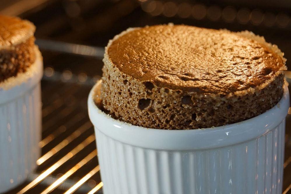recette de soufflé de chocolat