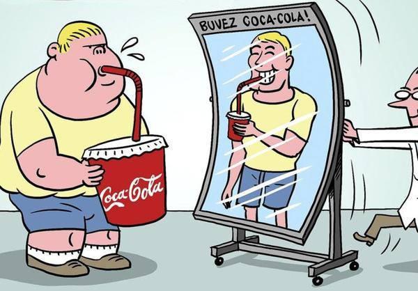 coca cola obésité financement