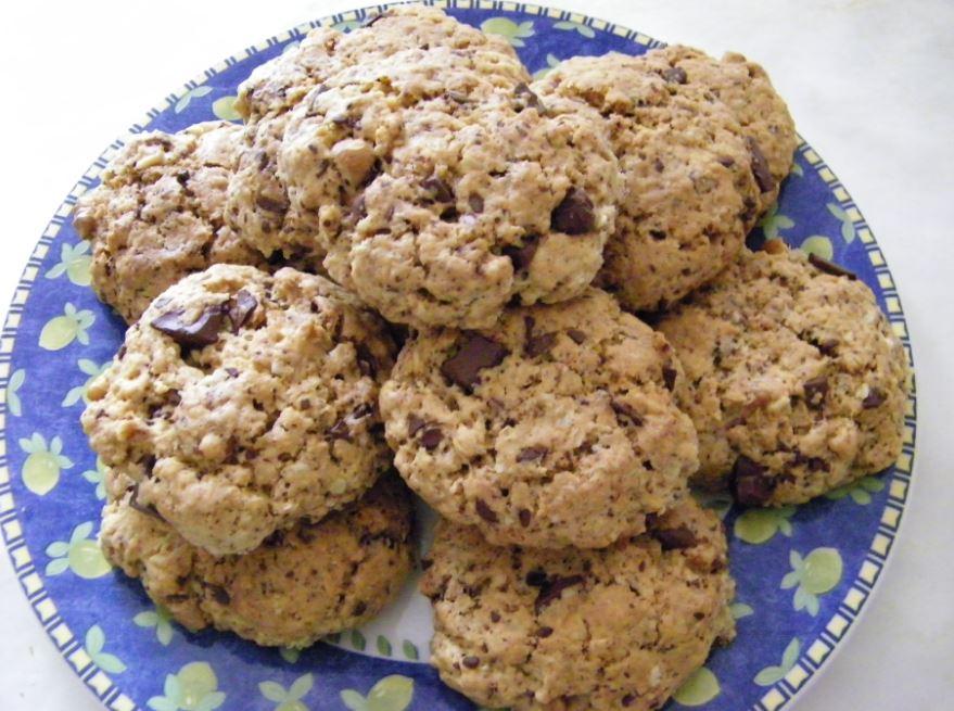 recette de cookies aux flocons