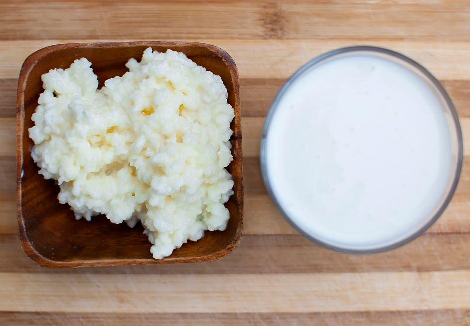 le kéfir au lait