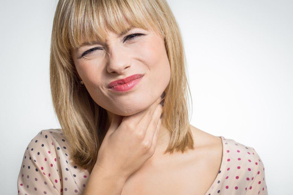 les maux de gorge
