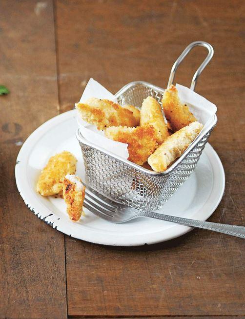 recette de nuggets de dinde au four