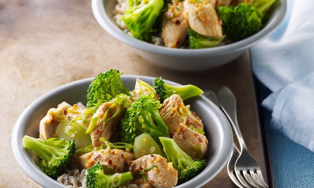 recette de poulet au brocoli