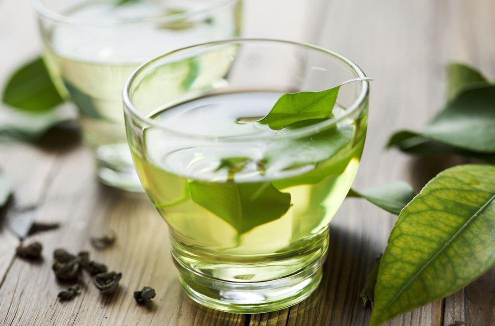 le thé vert pris
