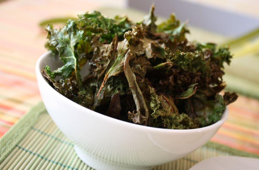 recette de chips de chou kale