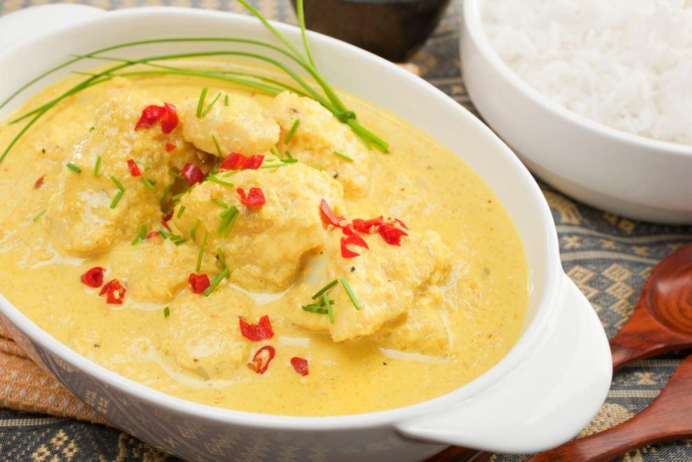 recette de curry au poisson