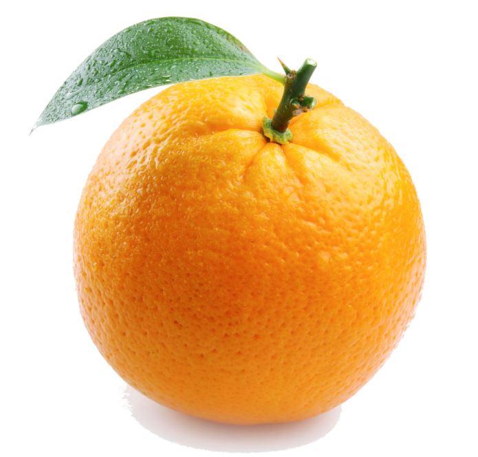 l'orange pour supprimer la rétention d'eau