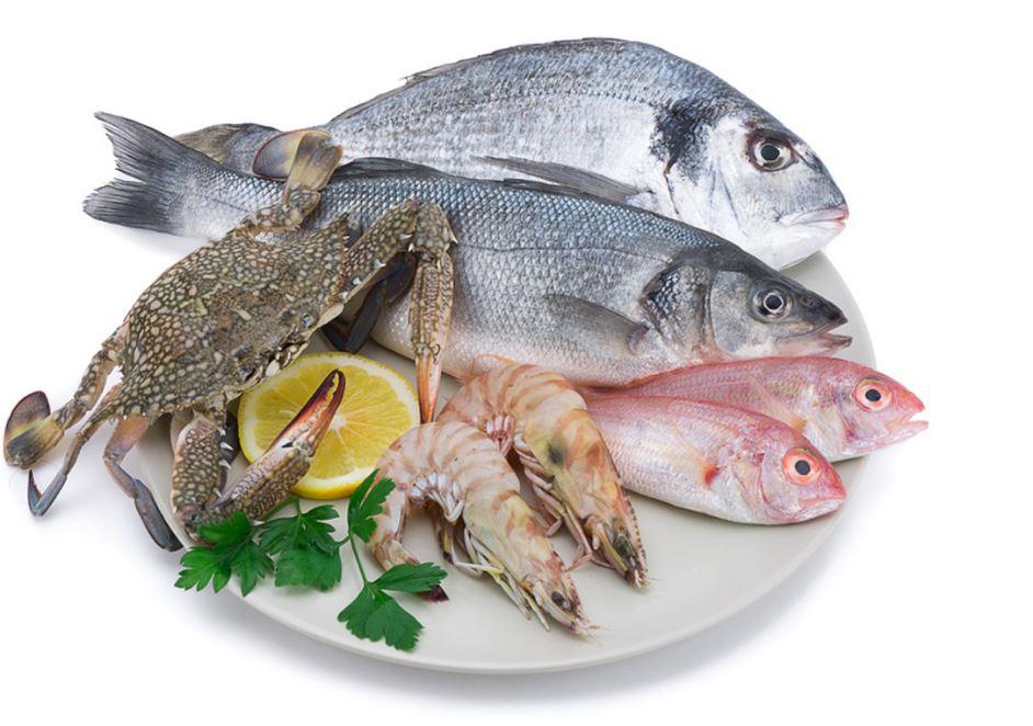 poisson contenant des éléments
