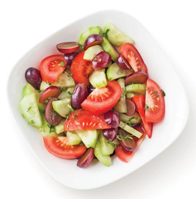 recette de salade de concombres