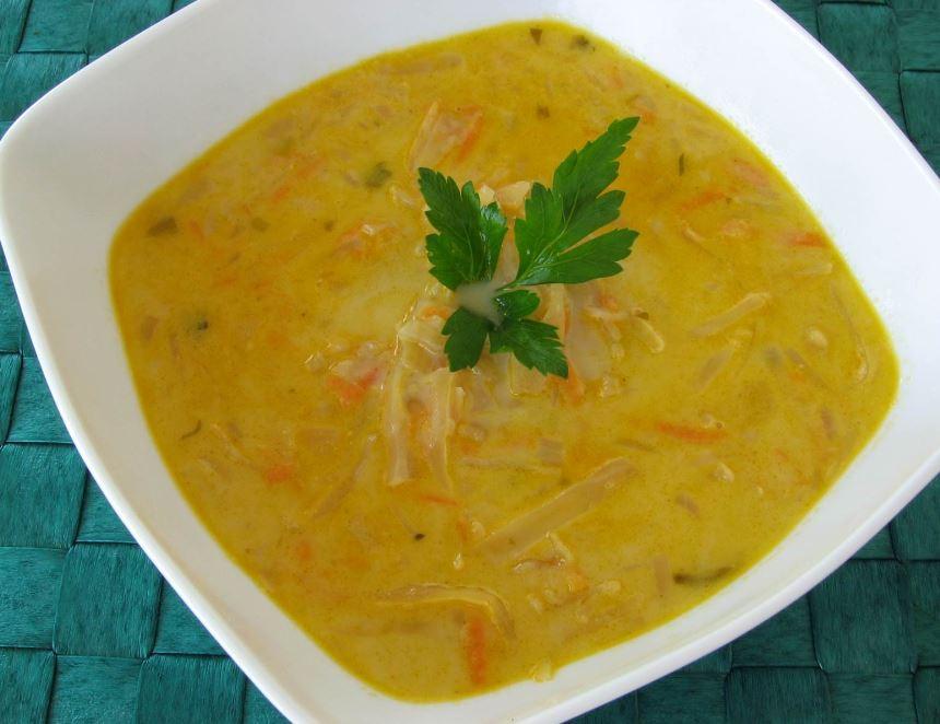 la soupe au chou végétarien