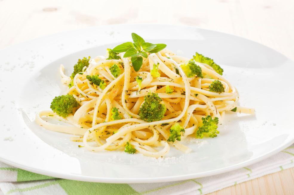 recette de spaghettis aux brocolis