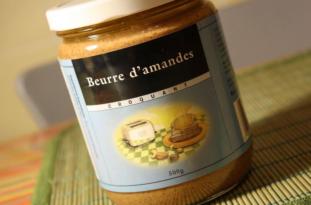 beurre d'amande riche en protéines
