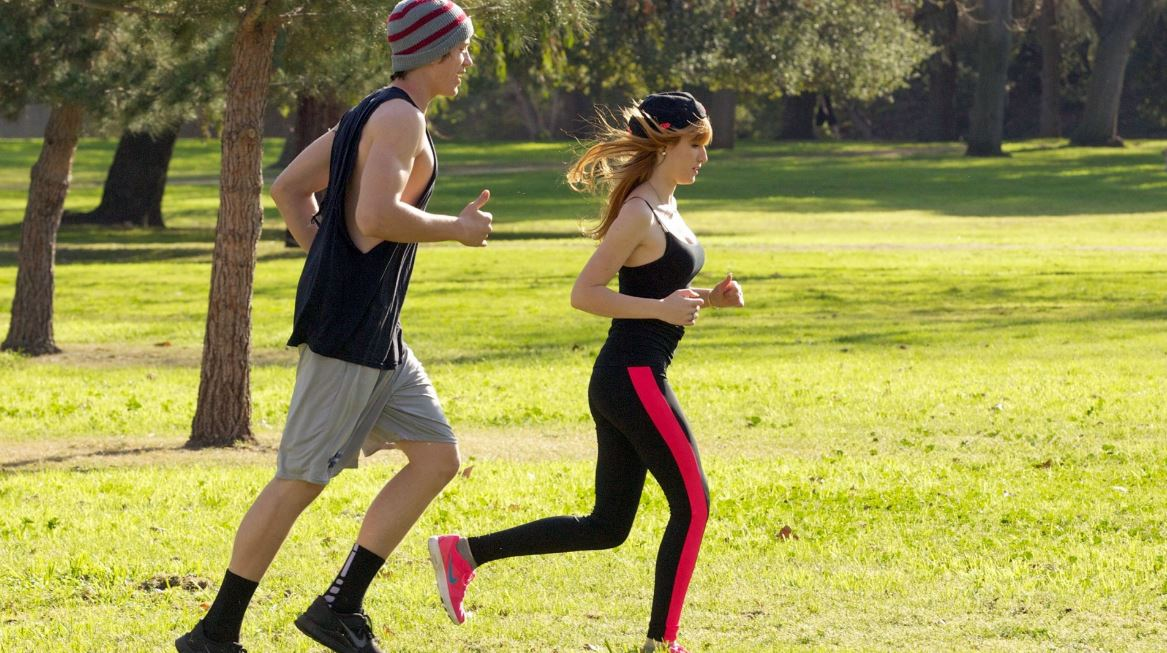 faire du jogging pendant l'hiver