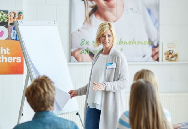 Réunions hebdomadaires Weight Watchers