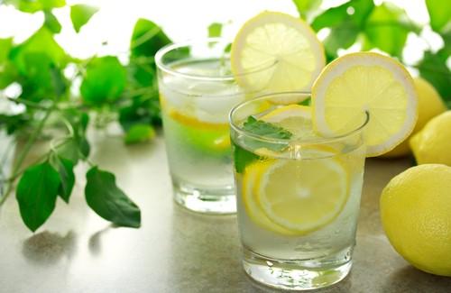 maigrir avec de l'eau au citron