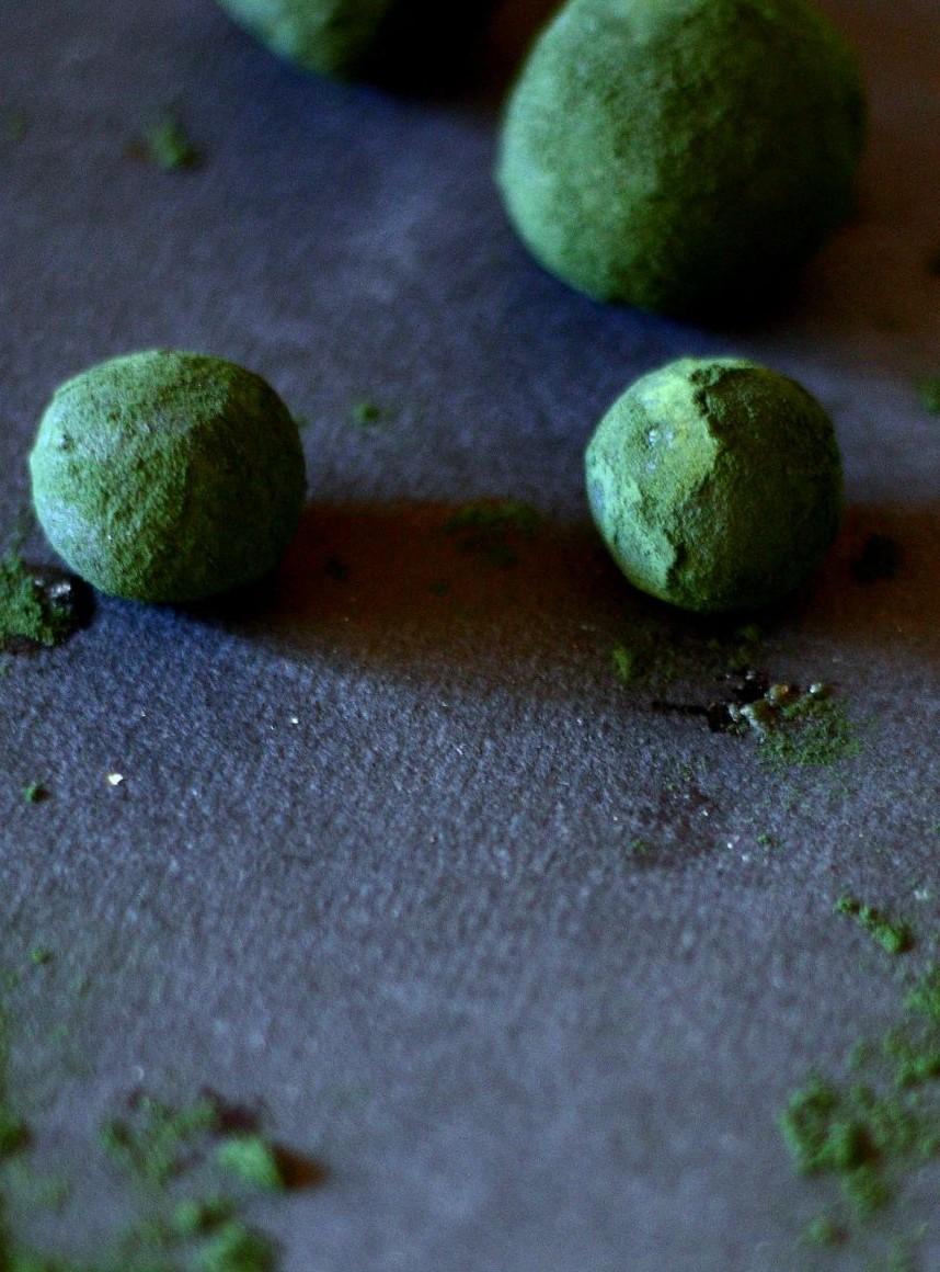 energy balls spiruline préparation