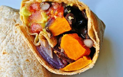 burrito vegetalien