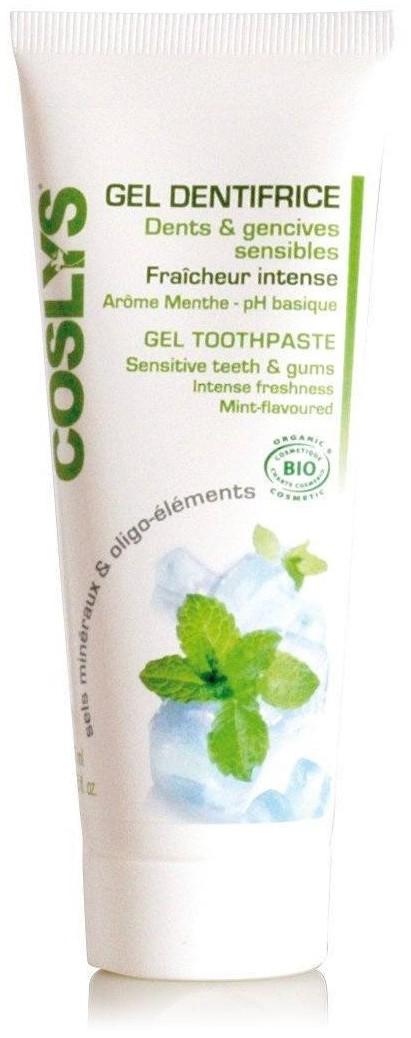 dentifrice à base de gel daloe vera coslys
