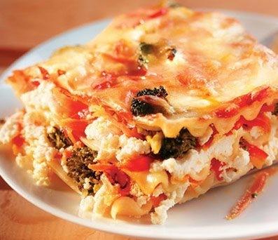 lasagne ricotta et légumes recette weight watchers