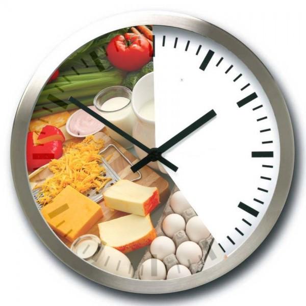 horloge sans petit déjeuner