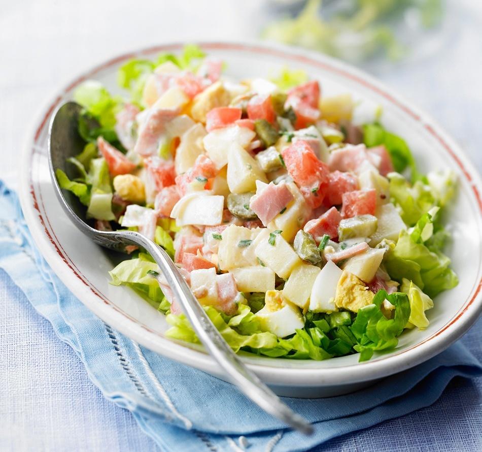 recette weight watchers de salade a la russe allégée