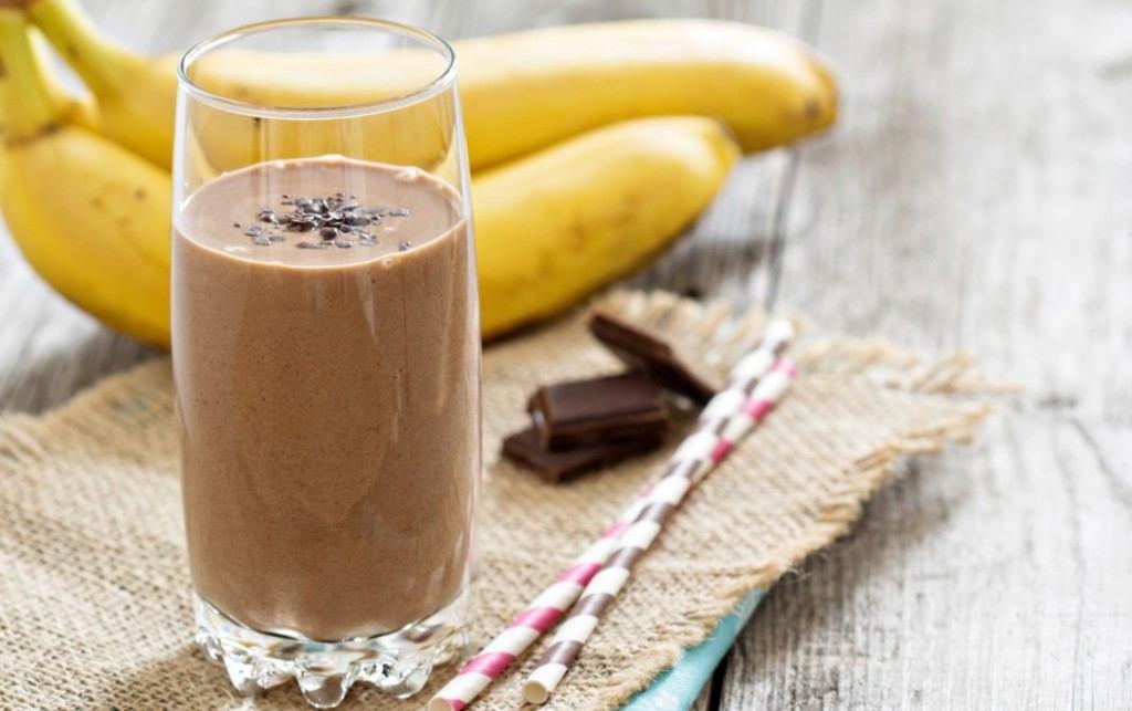 recette rapide et protéiné smoothie chocolat