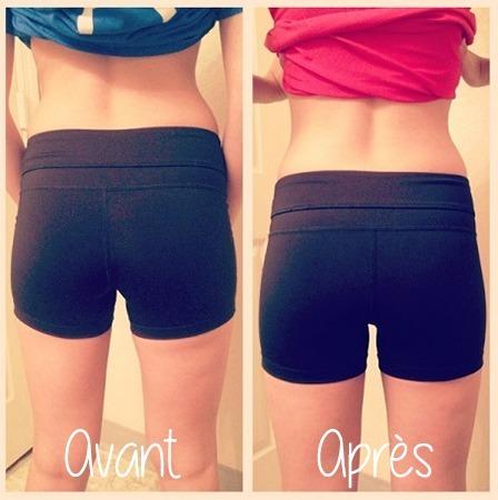 squat avant et après resultats