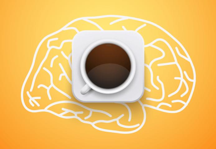 cerveau et café