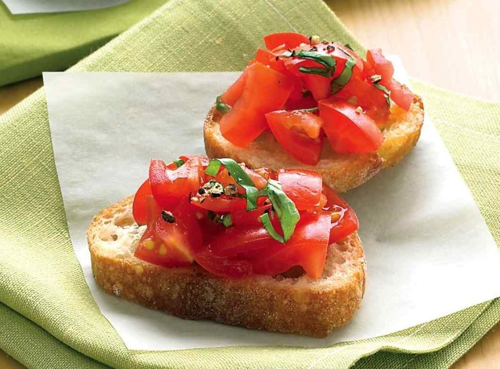 crostini italien recette légère