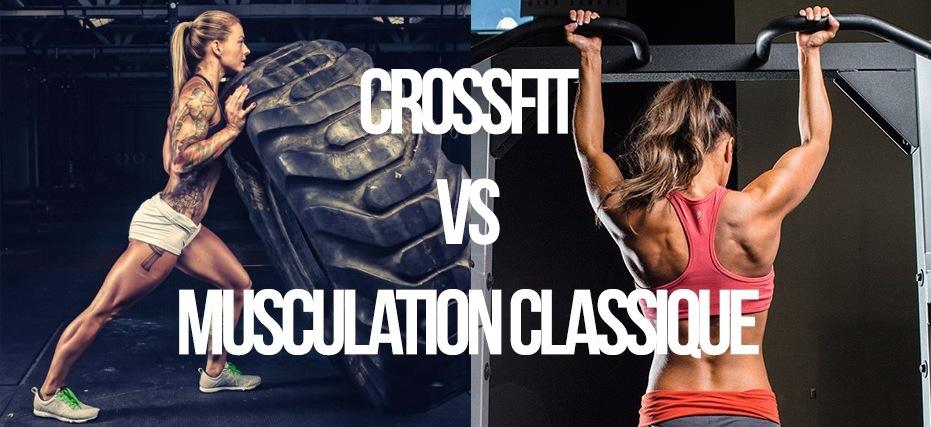 différence crossfit et musculation classique