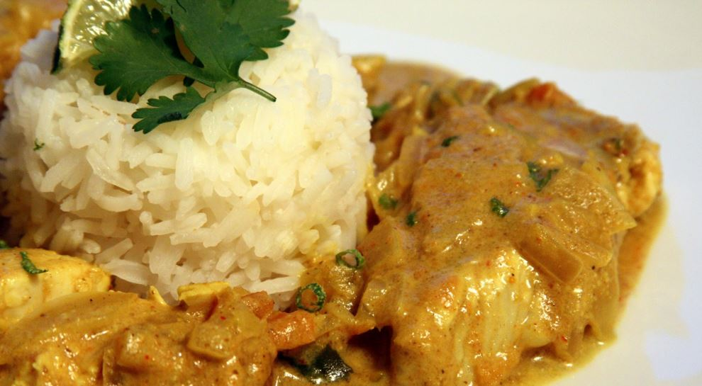curry au poisson