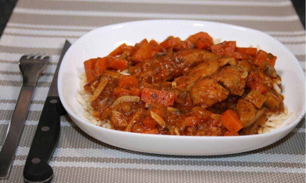 recette de veau marengo
