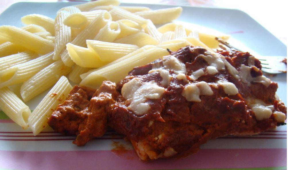 recette de saumon à l'italienne