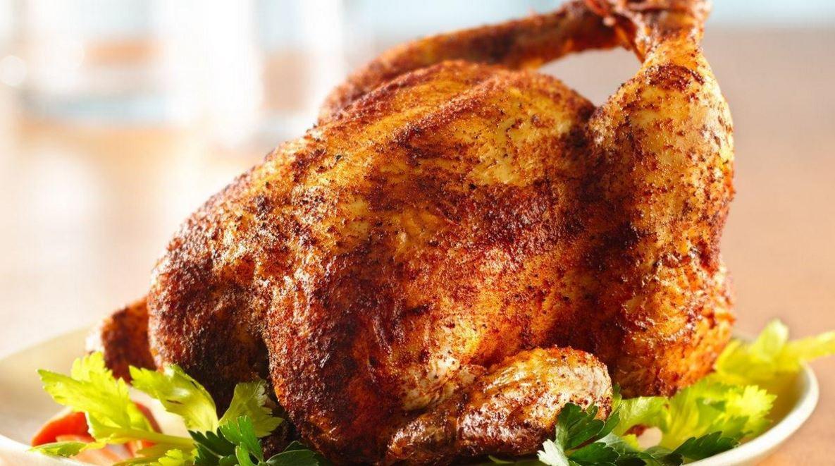 poulet grillé rôti