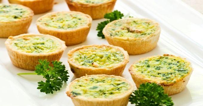 recette de tartelettes végétariennes
