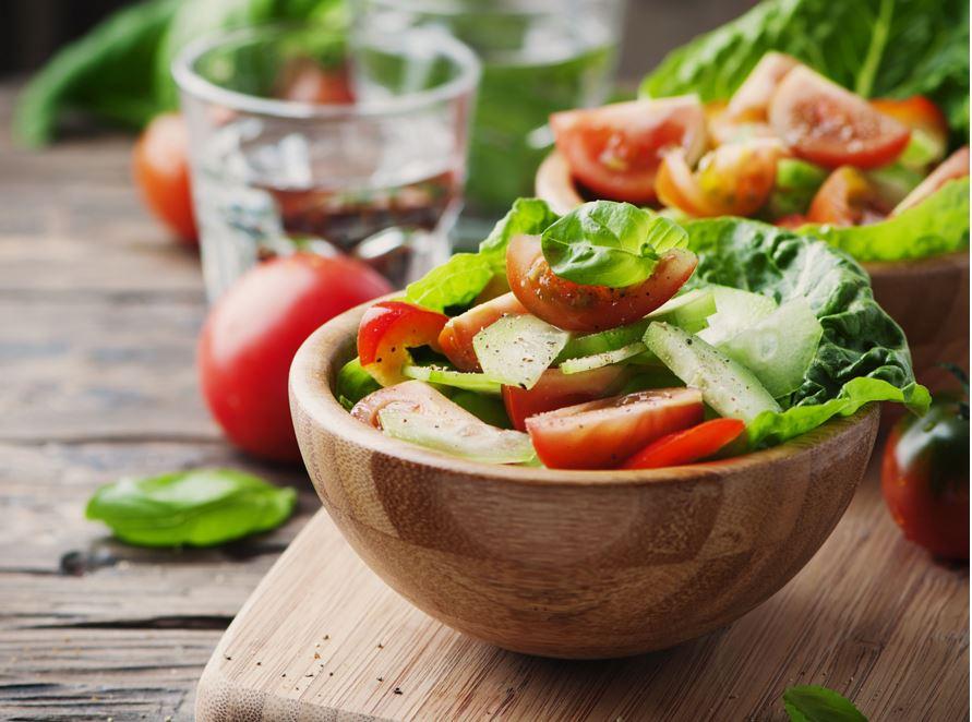 bol de salade mixte