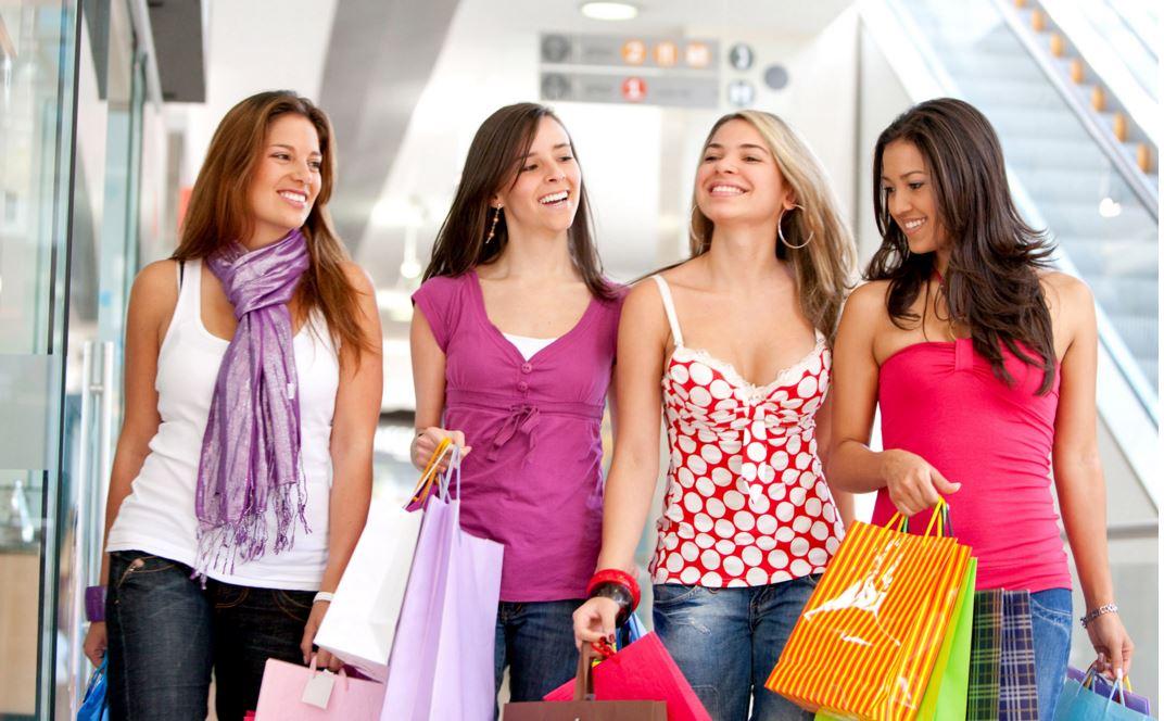 se détendre avec du shopping