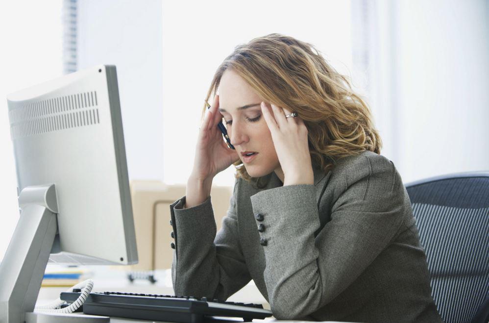 el estrés laboral provoca