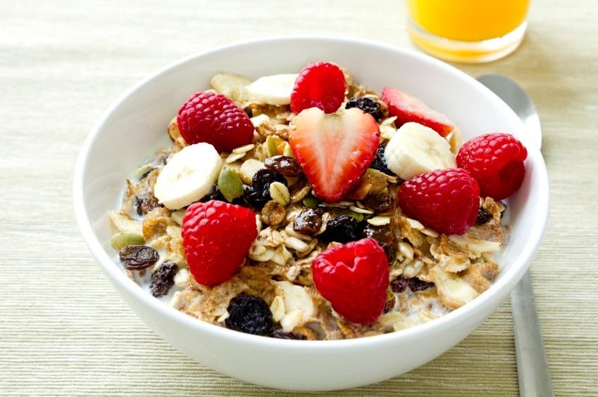 petit déjjeuner équilibré