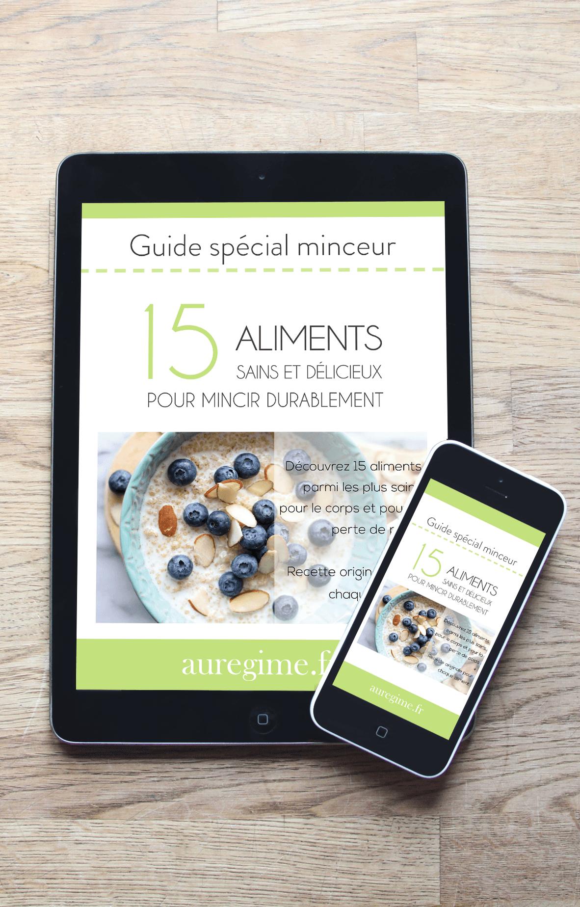 15 aliments sains et délicieux pour mincir durablement ebook