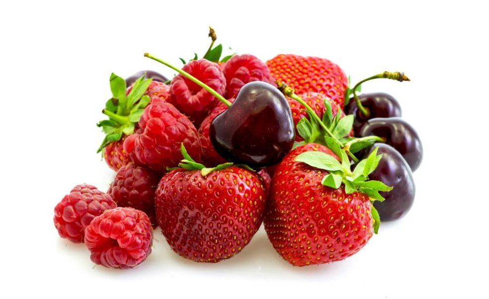 fruits rouges riches en antioxydants